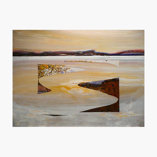 Mystical Bed - Lake King Photographic Print
