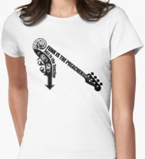 Funk Vs Jazz Women's Fitted T-Shirt