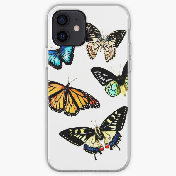 Butterflies iPhone Soft Case