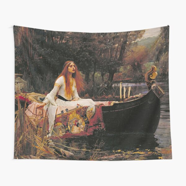 THE LADY OF SHALLOT - WATERHOUSE Tapestry