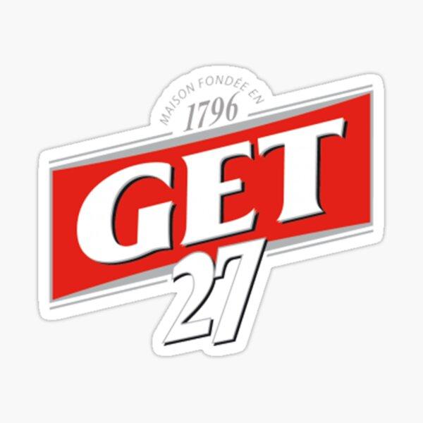 Get 27  Sticker