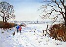 Winter Walk by Ann Mortimer