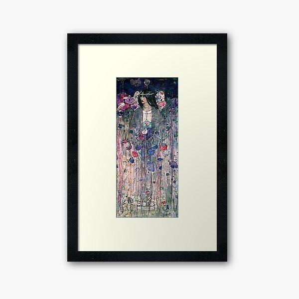 Charles Rennie Mackintosh, In Fairyland. 1897. Framed Art Print