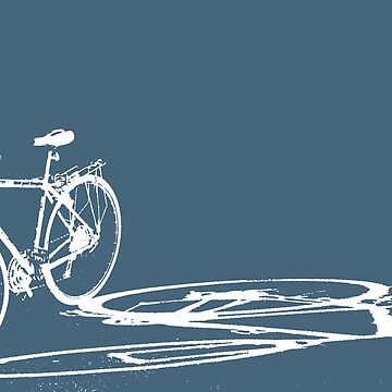 bike in shadow by bicyclegood