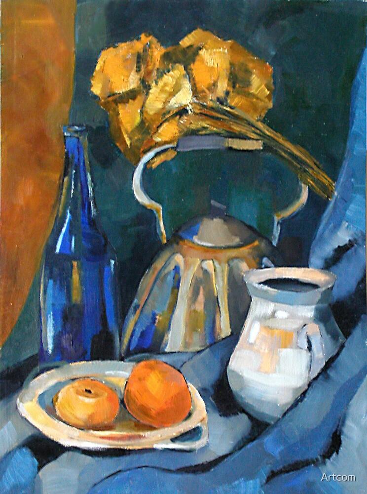 Still Life in Blue by Artcom