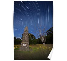 John Whitton Startrail Poster
