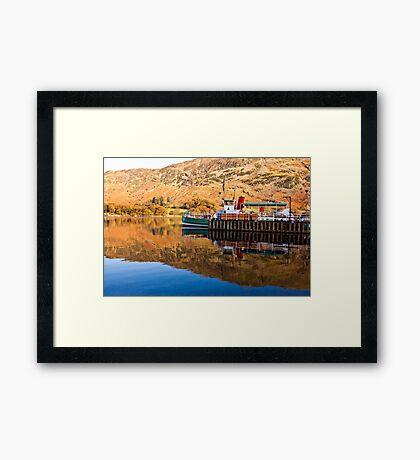 Ullswater Steamer Framed Print