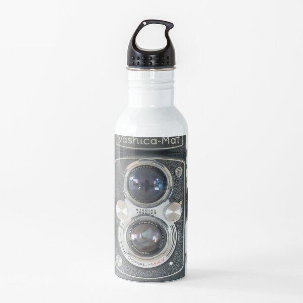 Yashica-Mat, twin lens reflex camera Water Bottle