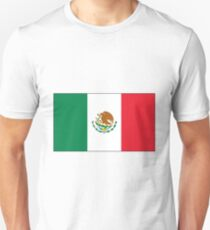 Flag of Mexico Unisex T-Shirt