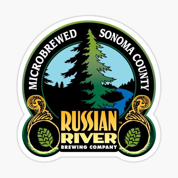 Russian River Brewing Company Logo Sticker