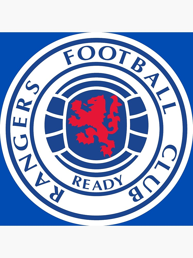 Car Sticker Rangers FC Sticker Rangers.