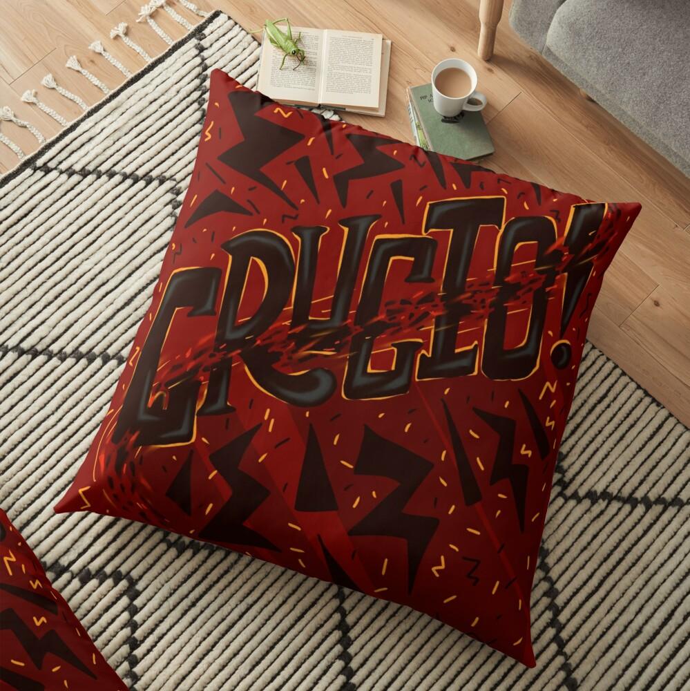 Unforgivable Curse - Crucio Floor Pillow