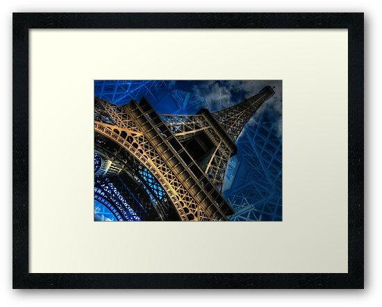 Eiffel Deux by Randy Turnbow