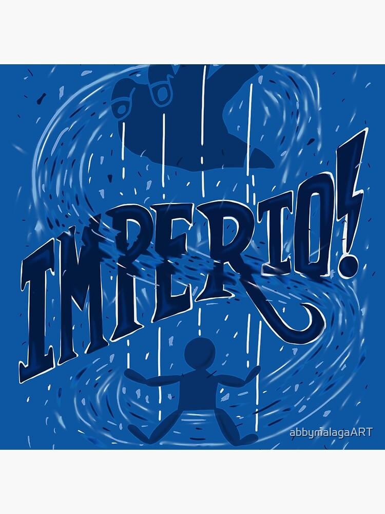 Unforgivable Curse - Imperio by abbymalagaART