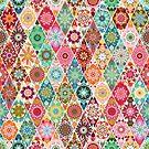Diamond  quilt by camcreativedk