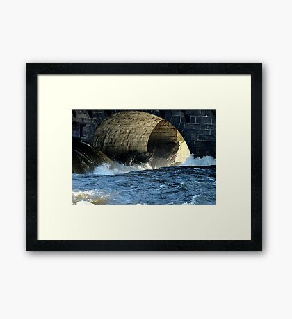 Morning Flood Framed Print
