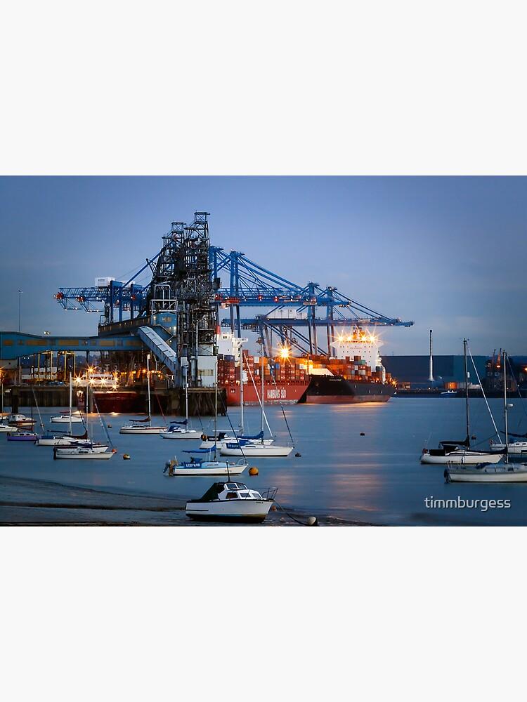 Tilbury Docks Imports by timmburgess