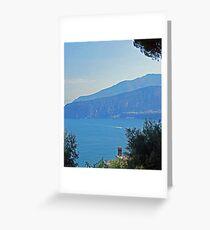 Sky Blue, Sea Blue - Sorrento Bay Greeting Card