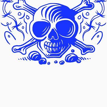 Skull Crossbones by Rustyoldtown