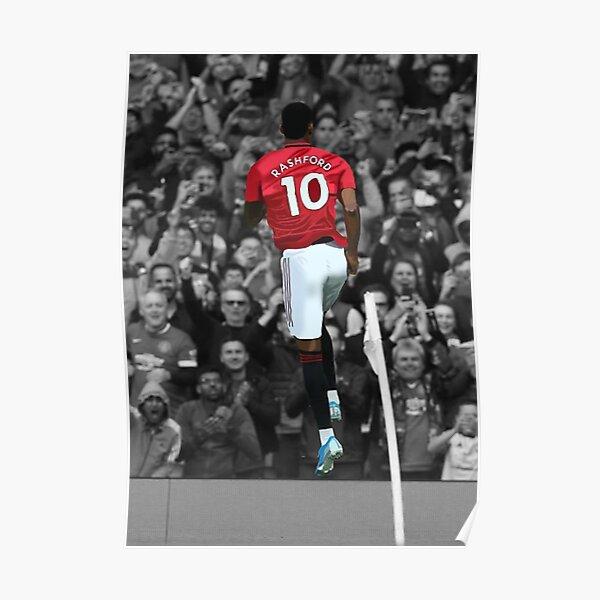 Manchester United's Marcus Rashford Poster