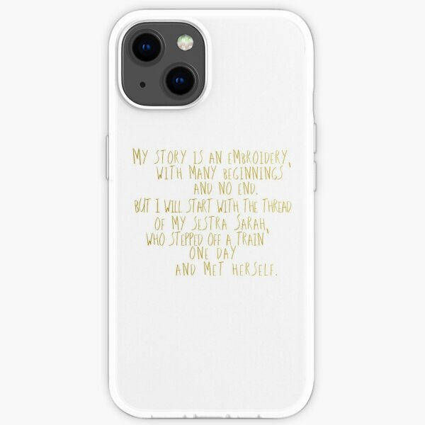 Orphan Black Finale Helena Quote iPhone Soft Case