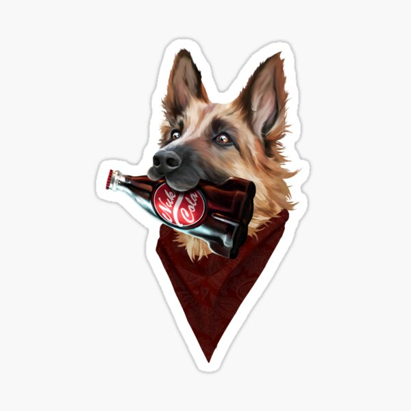 Dogmeat  Sticker