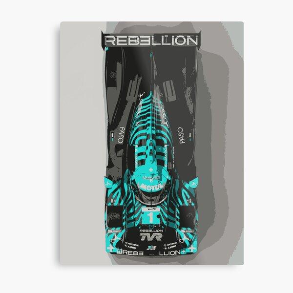 TVR Rebellion LMP Race Car Metal Print