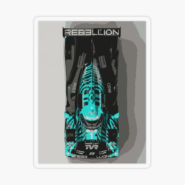 TVR Rebellion LMP Race Car Transparent Sticker