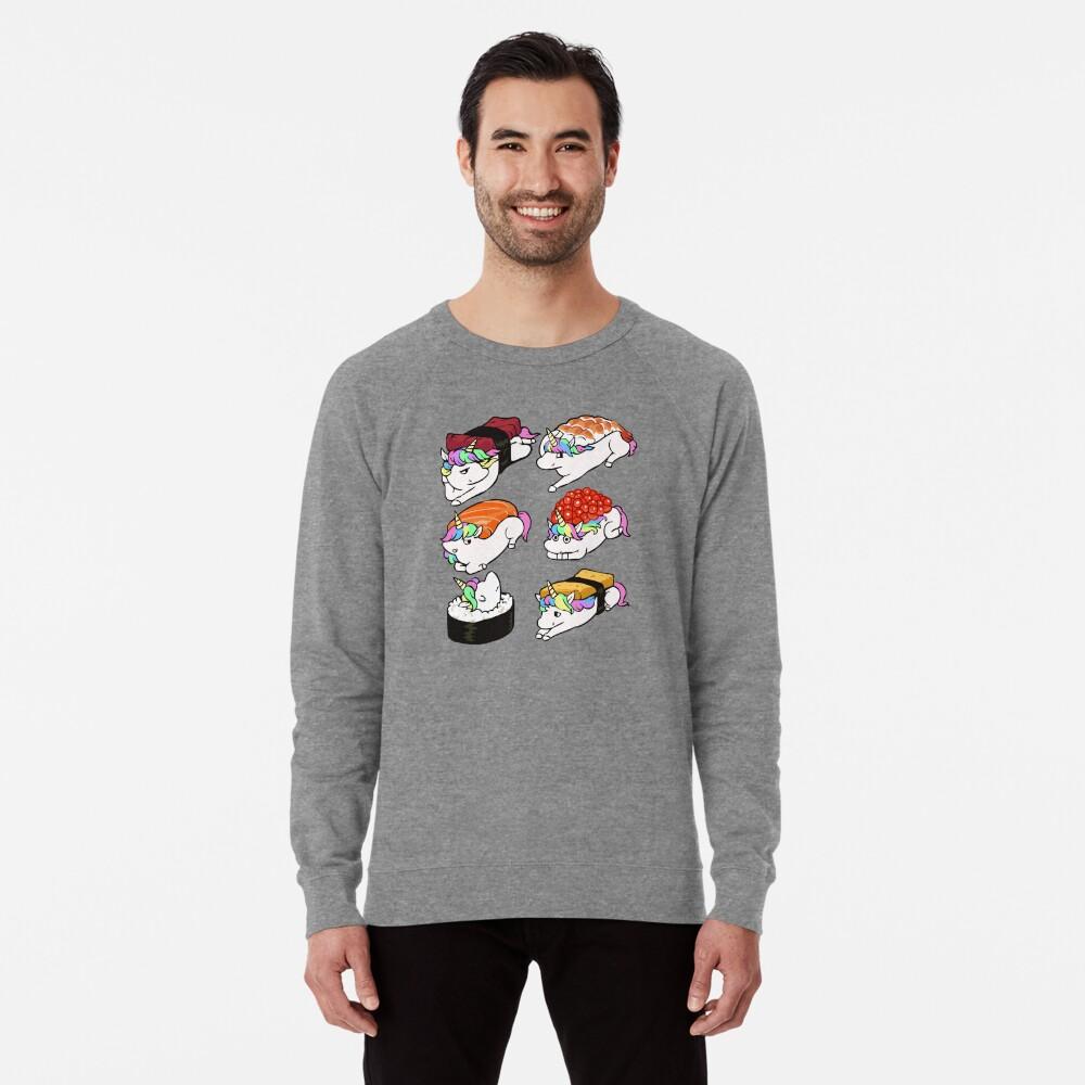 Sushi Unicorn Lightweight Sweatshirt