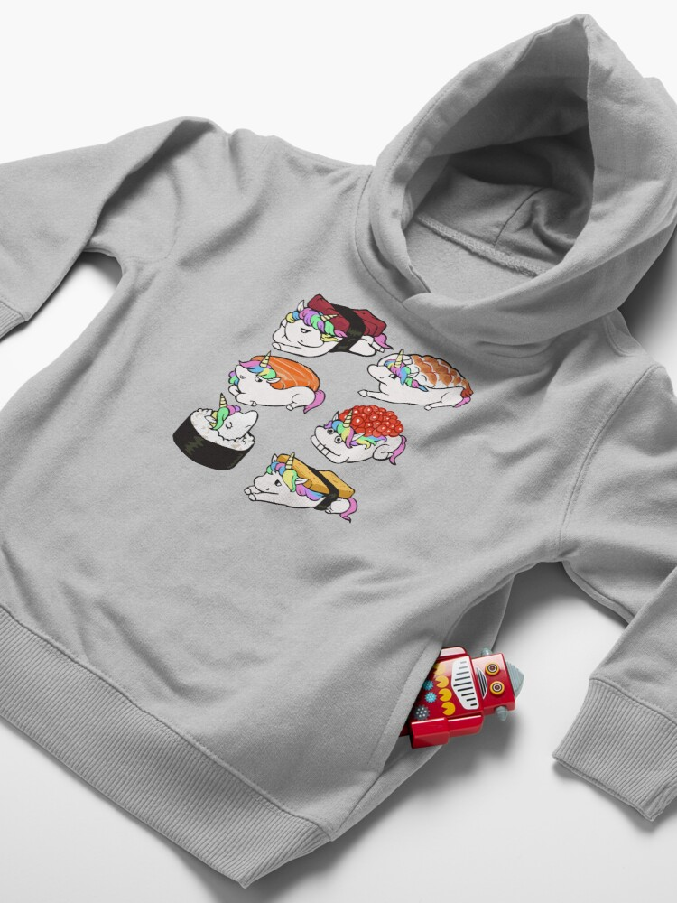 Alternate view of  Sushi Unicorn Toddler Pullover Hoodie