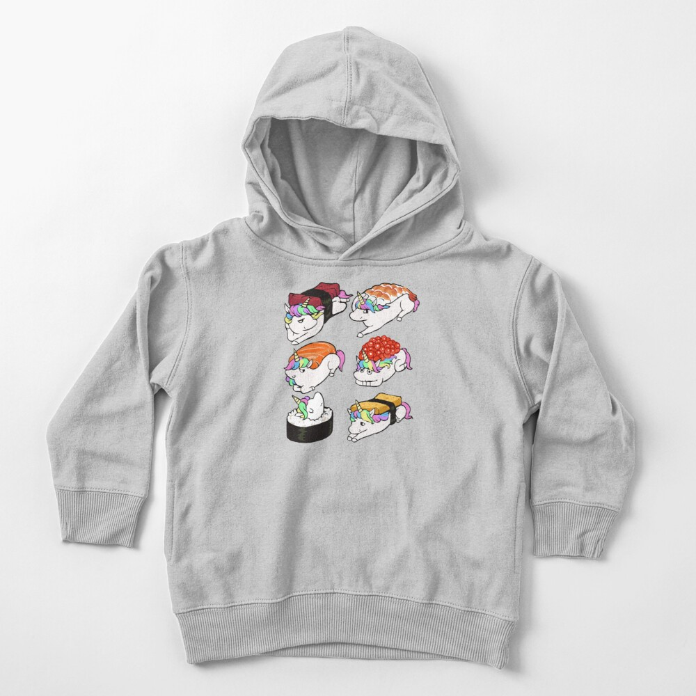 Sushi Unicorn Toddler Pullover Hoodie