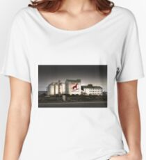 Dingo Flour Mill - Fremantle Western Australia  Women's Relaxed Fit T-Shirt