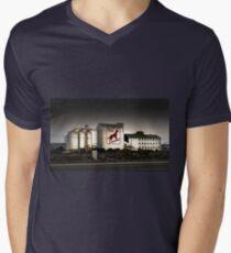 Dingo Flour Mill - Fremantle Western Australia  Mens V-Neck T-Shirt