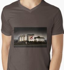 Dingo Flour Mill - Fremantle Western Australia  Mens V-Neck T-Shirt