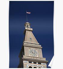 Denver - Historic D & F Clocktower Poster