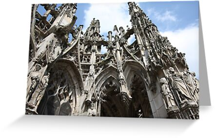Notre Dame, Louviers by Gothman