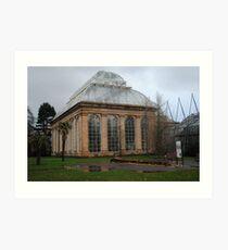 The Glasshouse, Royal Botanic Garden, Edinburgh Art Print