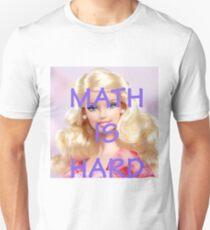 Math Is Hard-- Doll T-Shirt