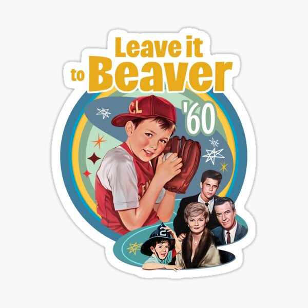 Leave it to beaver Sticker