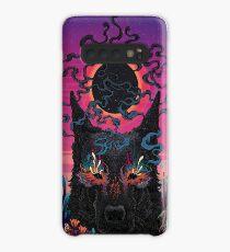 Black Eyed Dog Case/Skin for Samsung Galaxy