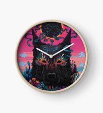 Black Eyed Dog Clock