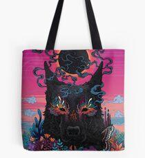Black Eyed Dog Tote Bag