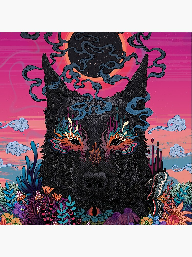 Black Eyed Dog by MatMiller