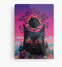 Black Eyed Dog Metal Print
