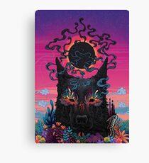 Black Eyed Dog Canvas Print
