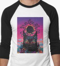 Black Eyed Dog Baseball ¾ Sleeve T-Shirt