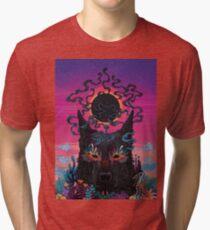 Black Eyed Dog Tri-blend T-Shirt