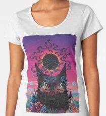 Black Eyed Dog Premium Scoop T-Shirt