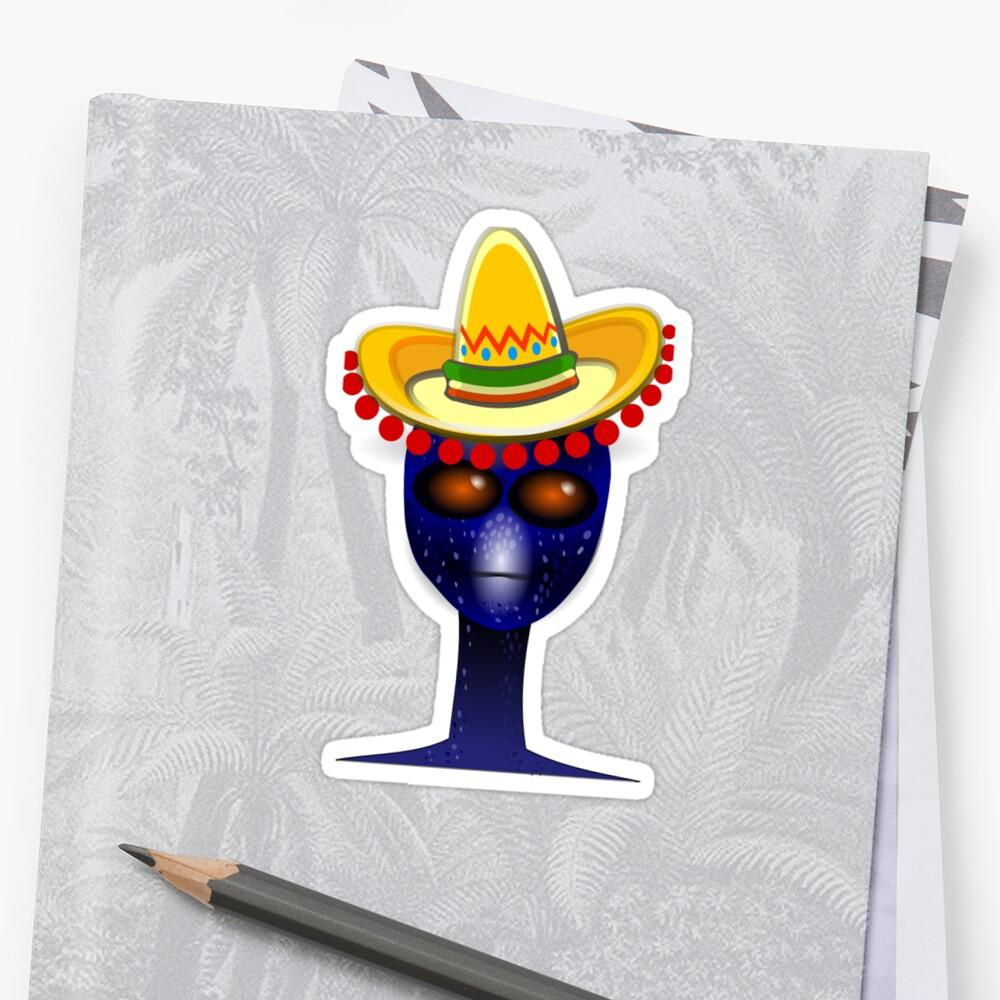 08da112e3ca49a Mexican alien sombrero mralan jpg 1000x1000 Alien sombrero