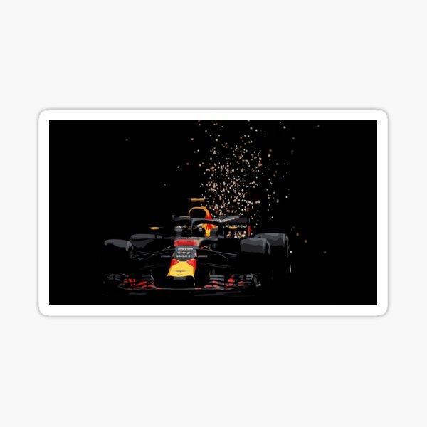 Max Verstappen - Redbull Monaco Sticker